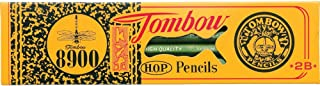 Tombow 51532 8900 Drawing Pencils, 2B, 12-Pack. Long Lasting, Quality Graphite Writing Pencils