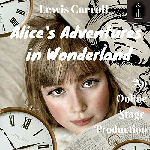 Alice in Wonderland audiobook cover art