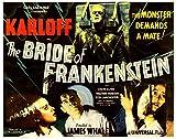 The Bride of Frankenstein Movie Poster Masterprint (35,56 x