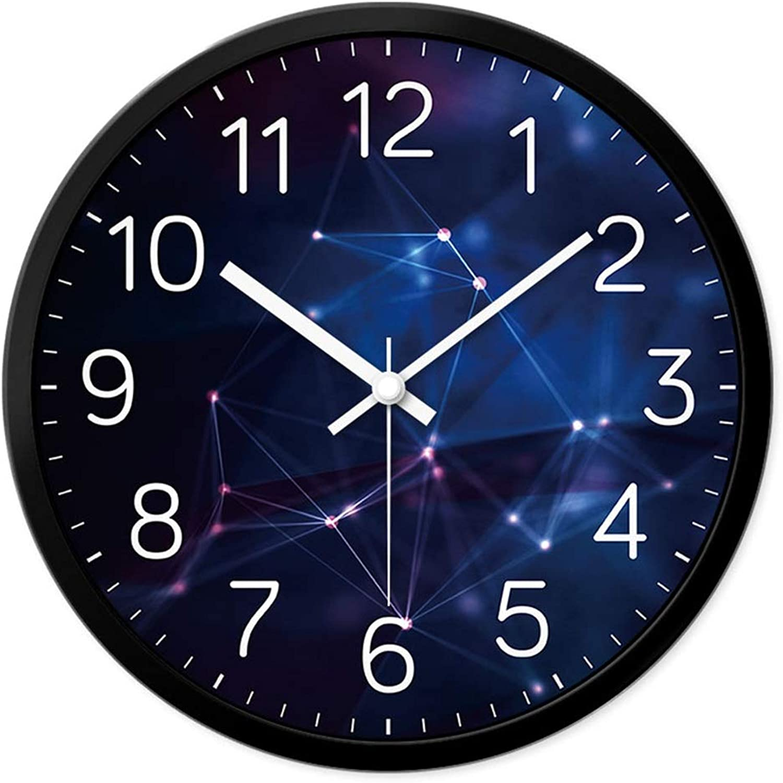wholesape barato Fei Fei Fei Fei Reloj de Parojo con decoración Moderna Reloj de Parojo de Cuarzo Mute Fit Sala de Estar con Dormitorio (Color   B, Tamao   14 )  online al mejor precio