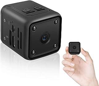 安くて良いUENO-JP Ultra-compact hidden camera 1080P High-quality long-time recording Infrared night vision ..買う