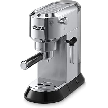 De'Longhi EC680M Dedica 15-Bar Pump Espresso Machine, Stainless Steel