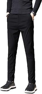 KTMOUW スキニーパンツ メンズ チノパン ストレッチ 大きいサイズ スリム 美脚 ロングパンツ カジュアル 無地 ブラック ダークグレー アーミーグリーン