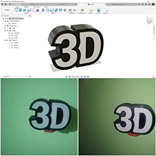 Customized and Personalized 3D Printing Service for Education, Engineering Prototype, Architectural Model,Gifts for Your L...