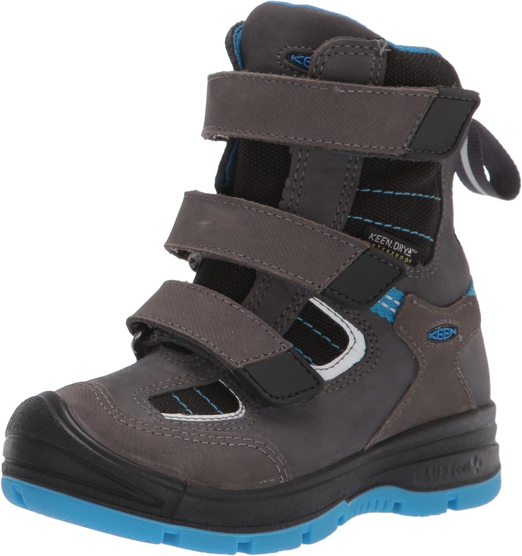 KEEN Unisex-Child Redwood Winter Mid Height Leather Waterproof Snow Boot