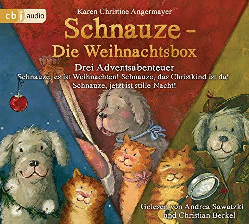 Schnauze - Die Weihnachtsbox: Drei Adventsabenteuer: Schnauze, es ist Weihnachten; Schnauze, das Christkind ist da!; Schnauze, jetzt ist Stille Nacht!