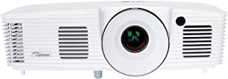 Optoma EH341 Full 3D 1080p 3500 Lumen DLP Multimedia Projector with MHL Enabled HDMI Port, 20,000:1 Contrast Ratio and 8,0...