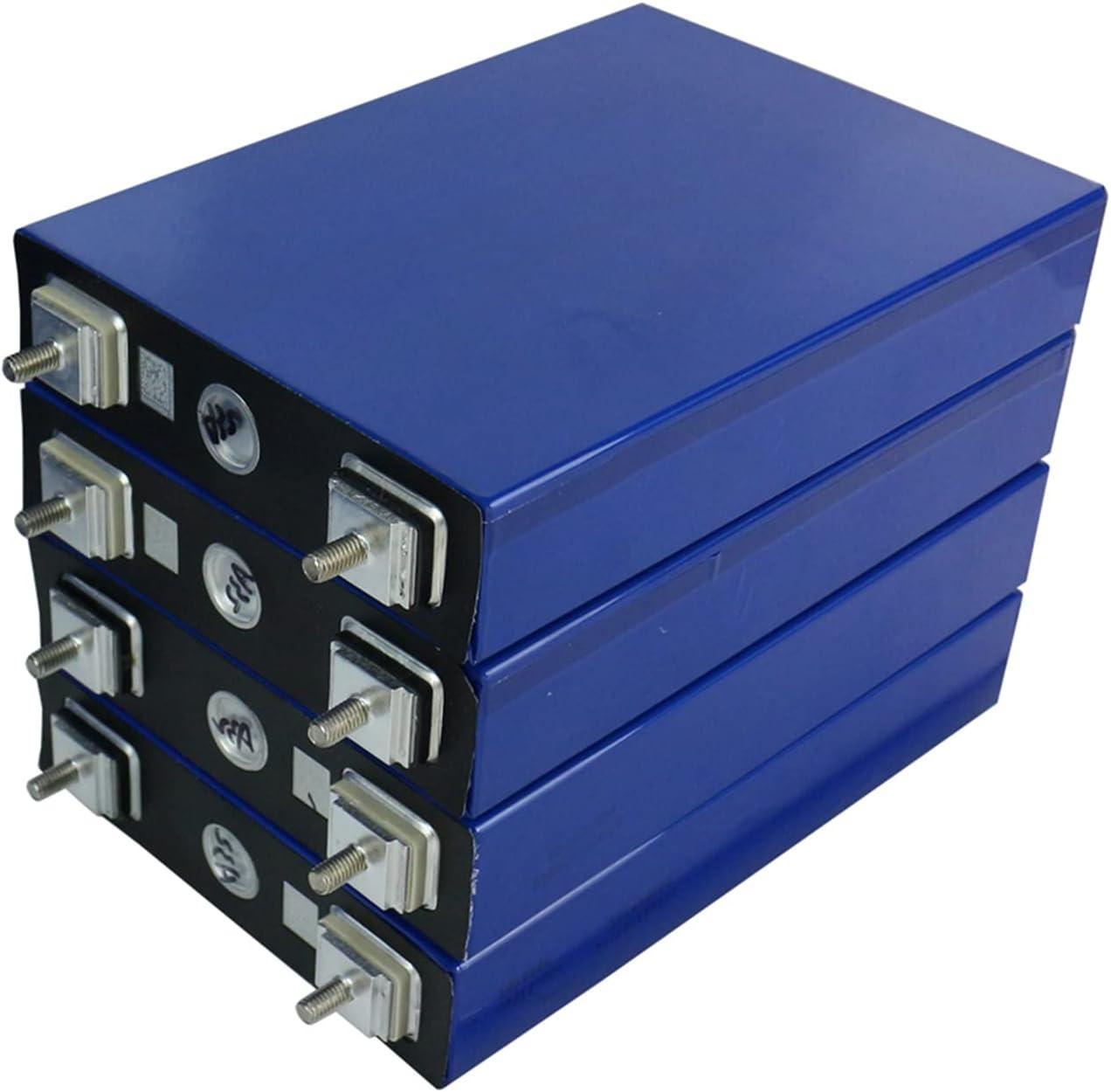 OANCO 4/8/16PCS 3.2V 100Ah Lifepo4 Batería Puede Formar 12V 24V 48V Batería De Litio-Hierro 100000mah Puede Hacer Baterías para Energía Solar,Barco,Batería De Automóvil (Color : 16PCS 48V 100AH)