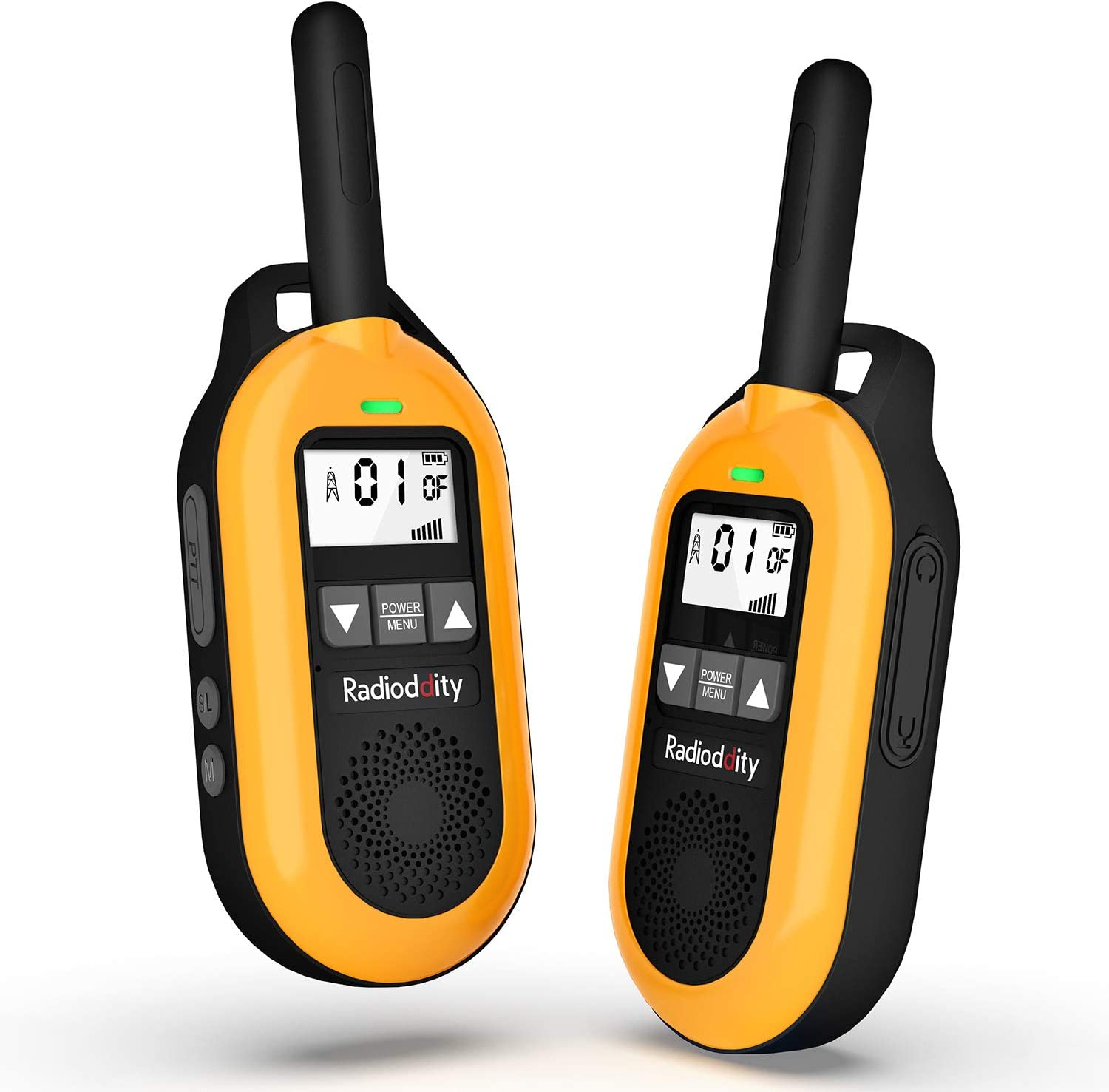 4 years warranty Radioddity FS-T2 Rechargeable Walkie Talkies K for Adults Family Rapid rise
