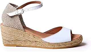 Toni Pons LLIVIA-P - Espadrille for Woman Made in Leather.