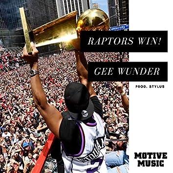 Raptors Win!