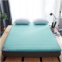 Latex Tatami Mattress Pad Mattress Topper, Breathable Soft Futon Mattresses Foldable Floor Mat for Home Camping Yoga Bed M...