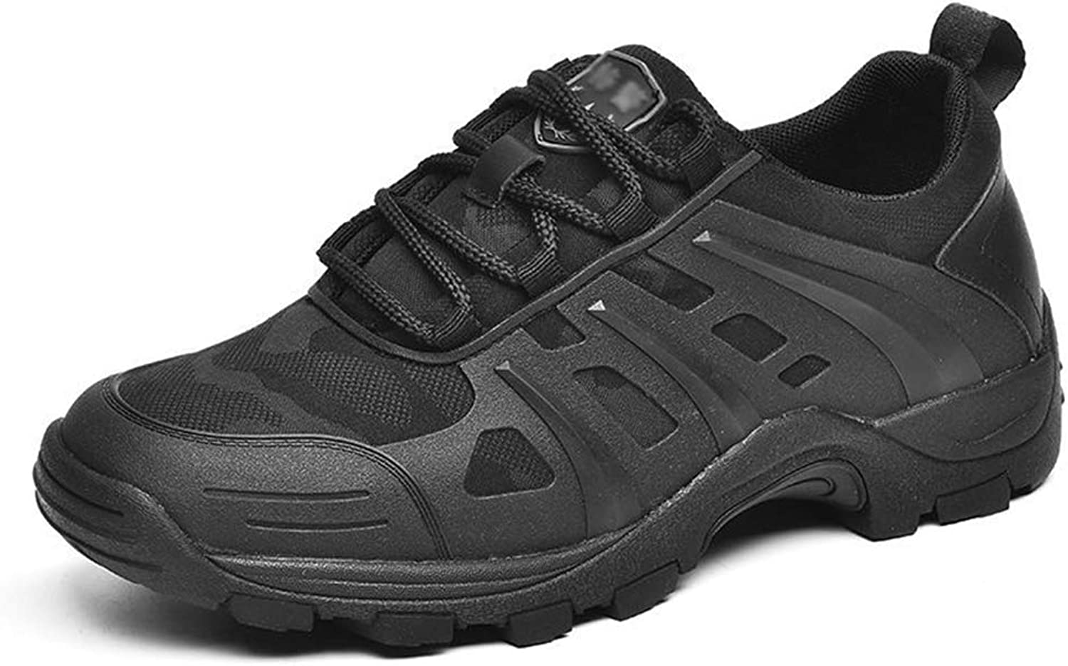Suetar Men's Military Training Sport shoes Spring and Summer Breathable Non-Slip Running shoes MS68