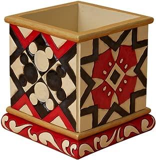 Enesco Disney Traditions Designed by Jim Shore Mickey Square Pot (Small) Planter 4.75 in