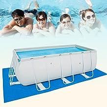 500*300CM Alfombra de piscina,Portátil y Ligero Alfombras Verano Plegable,Tapiz de Suelo,Manta de Picnic Impermeable,Protector de Suelo Piscina,para Home Garden Accesorio para piscina al aire libre