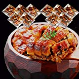 【国産 手焼き 炭火焼き】 きざみうなぎ 10食入り( 1パック70g うなぎ50・たれ20g) 山椒付 食べやすい 小分けパック 土用 丑の日…