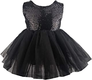 Princess Tulle Tutu Girl Dress Wedding Pageant Party Baby Dresses Sequin Backless Lace Flowers Newborn-7 Years