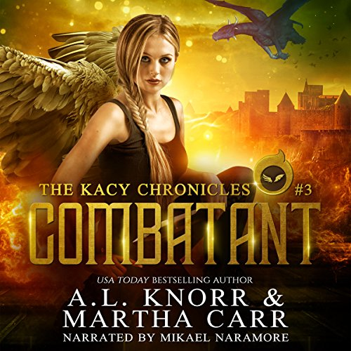 Combatant: The Revelations of Oriceran  audiobook cover art