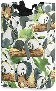 N\A Panier à Linge, Mignon Panda Arbre paniers de Rangement de Linge vêtements Pliables Sac Organisateur de Jouets pour Ch...