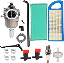 Hongsen 794572 Carburetor with Air Filter Tune-up Kit for Briggs & Stratton 791858 791888 792358 793224 697190 697141 698445 14hp 15hp 16hp 17hp 17.5 HP 18hp Craftsman Lawn Tractor Mower