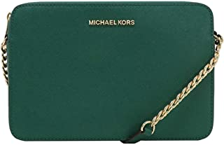 e196b3ef57 MICHAEL Michael Kors Women s Large East West Cross Body Bag (Emerald)