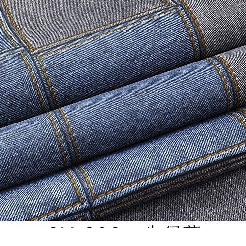 stijlvol behang vintage blauwe jeans behang Britse kleding winkel kinderkamer behang A