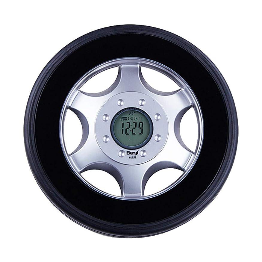 衣装アブセイ精神的にデジタル体重計バッテリー式精密電子体重計、タイヤデザイン、180kg / 396lbs