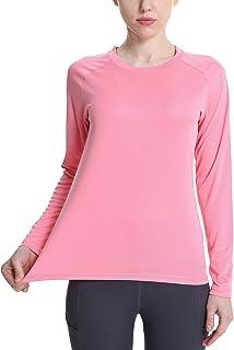 LABEYZON Women's Outdoor Long Sleeve Shirts UPF 50+ UV Sun Protection Lightweight Quick Dry Running Hiking T-Shirt