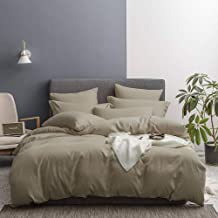 Lausonhouse Bedding Duvet Cover Set,Ultra Soft Brushed Microfiber Hotel Collection 3 Pieces Duvet Cover Set-Comforter Cove...