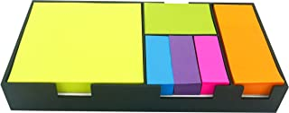 4A Sticky Note Bundle Set, Colored Rectangular Notes and Index Flags Organizer, Gifts for Students and Teachers! 100 Sheets/Pad, 6 Pads/Set, 600 Sheets/Set, 4A BS 1801