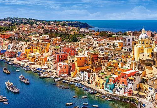 Castorland CSC151769 Marina Corricella,Italy, 1500 Teil Puzzle, bunt