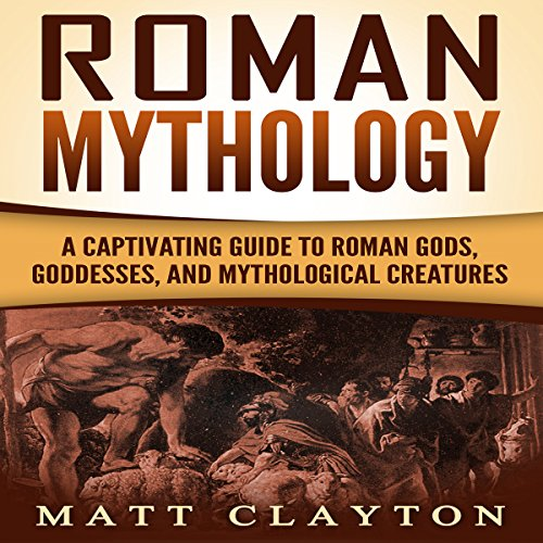 Roman Mythology audiobook cover art