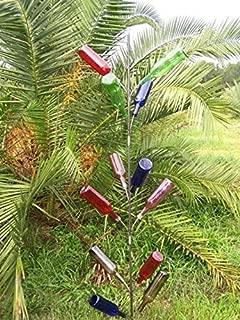 rebar wine bottle tree
