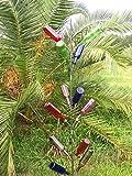 Southern Classic Garden 13 Wine bottle tree ~ 6 Feet ~ FREE SHIP- Our most popular Southern Wine Bottle Tree.