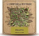 Chocolate negro con mojito (sin alcohol), 80 g,