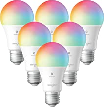 Sengled Smart Light Bulbs, Color Changing Alexa Light Bulb Bluetooth Mesh, Smart Bulbs That Work with Alexa Only, Dimmable...