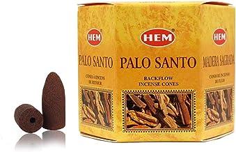 HEM - Backflow Incense Cones - Hand Crafted in India (Palo Santo)