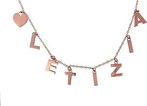 Collana con nome in argento con un minimo di 6 lettere ad un massimo di 8