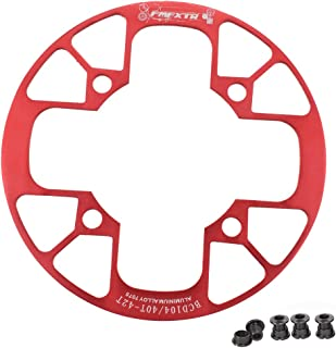 UPANBIKE Mountain Bike Chainring Guard 104 BCD Aluminum Alloy Chain Ring Protector Cover for 32~34T 36~38T 40~42T Chainring Sprockets
