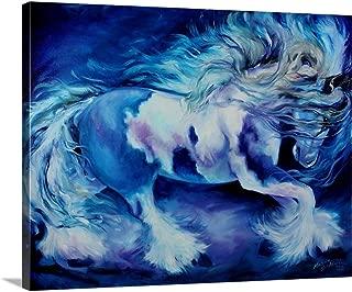 My Gypsy Vanner Thrill Canvas Wall Art Print, 30