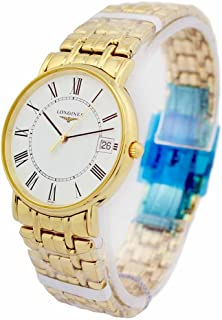 Longines Presence Gold Toned SS Unisex Watch L47202118 / L48192118