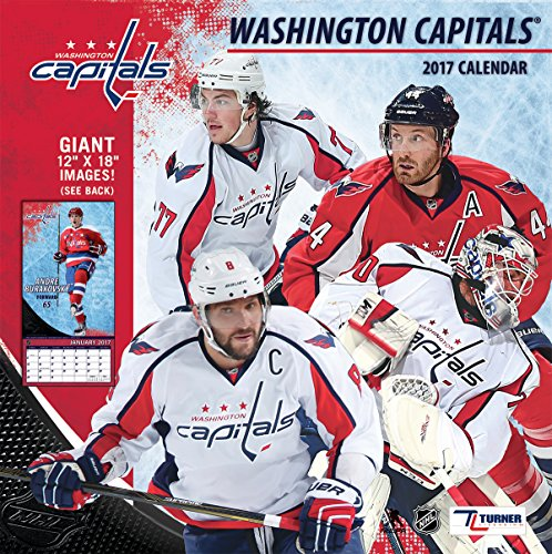 "Turner Licensing Sport 2017 Washington Capitals Team Wall Calendar, 12""X12"" (17998011959)"