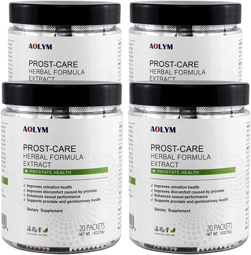 AOLYM Prost-Care Herbal Formula Health Quantity limited Advanced Prostate Supple safety
