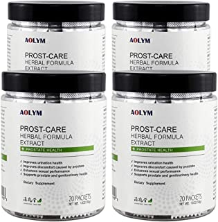 AOLYM Prost-Care Herbal Formula, Advanced Prostate Health Supplement for Men, Prostate Support for Men, Reduce Frequent Ur...