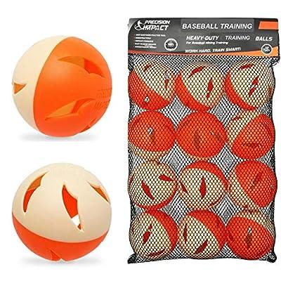 Precision Impact Squishies: Heavy-Duty Lightweight Balls for Baseball Hitting Training