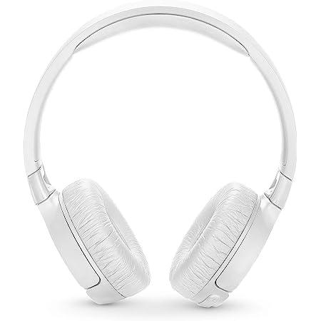 JBL TUNE 600BTNC - Noise Cancelling On-Ear Wireless Bluetooth Headphone - White (Renewed)
