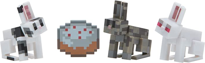 Minecraft Bunnies Figure Pack