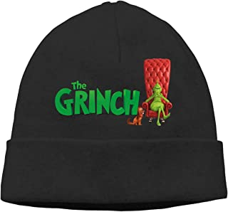 How The Grinch Stole Christmas Pullover Cap Neutral Knit Hat Casual Autumn and Winter Cotton Cap