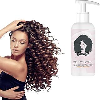 JXWYHH Bounziecurls Boost Defining Cream, Curl Hair Boost Defining Cream Hair Repairing Bounce, Curls Boost Defining Cream...