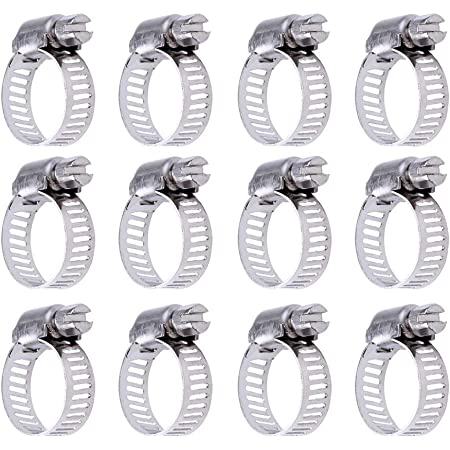Jubilee/® Clips Stainless Steel SS304 Hose Clamp 9.5-12mm x 2